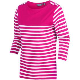 Regatta Pandara Maglietta a maniche lunghe Donna rosa/bianco